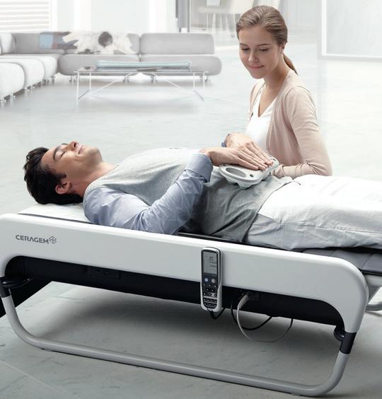 Ceragem Master V3 ist eine medizinische Therapieliege und Massageliege, die erfolgreich mit Jin Shin Jyutsu kombiniert werden kann