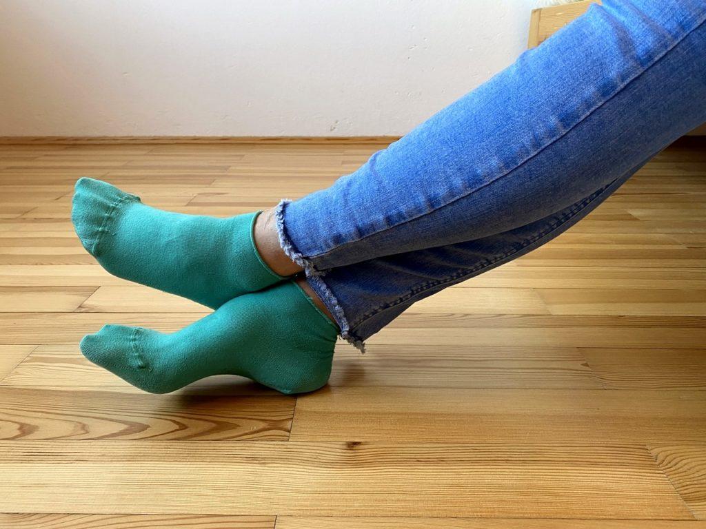 Strömen beim Zahnarzt: überkreuzte Beine harmonisieren das Jin Shin Jyutsu Sicherheitsenergieschloss 16
